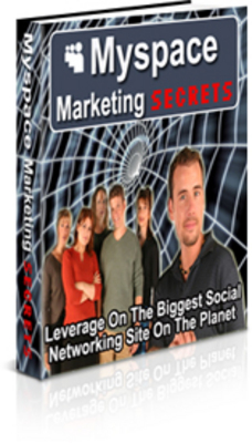 Product picture Myspace Marketing Secrets / Master Resell Rights