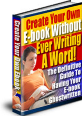 Product picture Create Your Ebook Without Writing A Word / Resell Rights